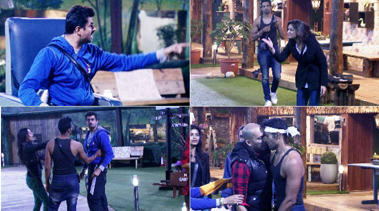 Pritam and Dimpy fight in Bigg Boss 8 house