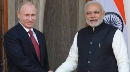 russia, vladimir putin, Narendra Modi, Pm Modi, Modi Russia Tour, Modi Russia visit, Modi in Russia, Vladamir Putin, india news, latest news, indian express