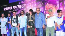 Radha shows off desi style in Tevar's nextsong
