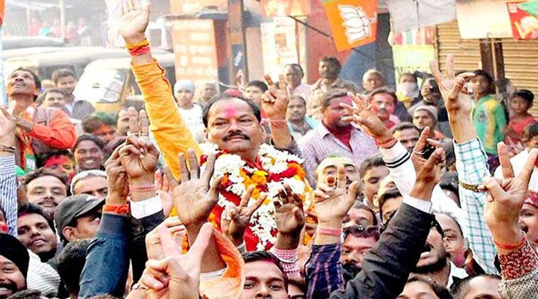 Raghubar Das after winning the election from his Jamshedpur East seat. (Source: PTI)