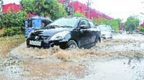 City records 11mm rainfall, two flights cancelled, train serviceshit