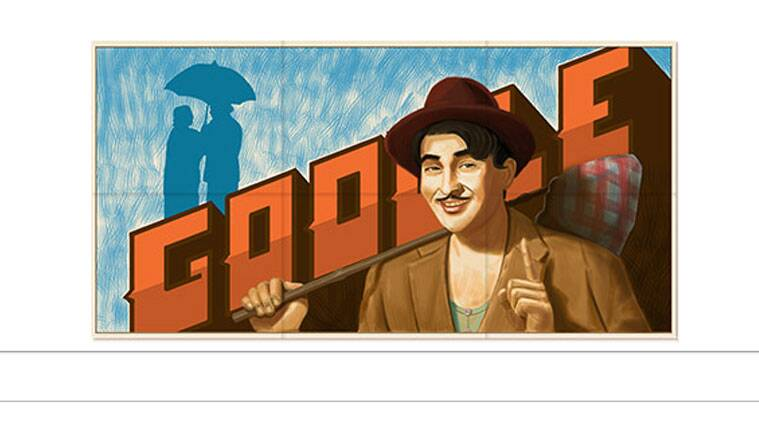 Google has a specially designed doodle dedicated to Raj Kapoor today.