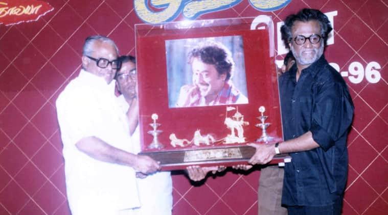 Rajinikanth with Balachander.