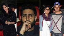 Aishwarya Rai, Abhishek, Aamir, Gauri, Alia have a ball at Ranbir - Katrina's new apartment