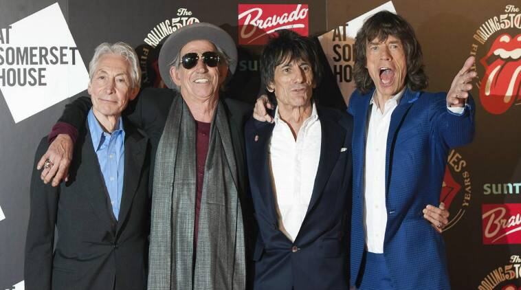 In the clip, lead singer Mick Jagger thanks fans who came to see the band play live in 2014. (Source: Reuters)
