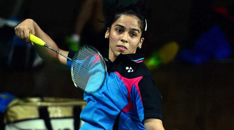 After topping the group with three victories in as many matches, Saina's dreams of reaching the finals came crashing down as she suffered a 21-11 13-21 9-21 loss. (Source: IE File)