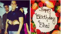 Salman Khan gets basket of strawberries as birthday cake