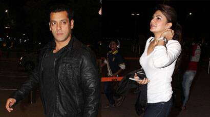 Salman Khan, Jacqueline Fernandez leave for holidays