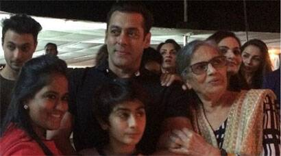 'Birthday Boy' Salman Khan parties with sister Arpita and family