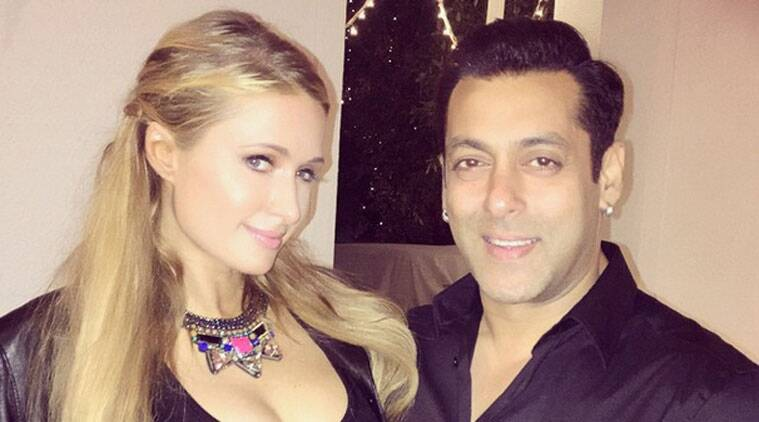 """She posted the picture on Instagram and captioned it, """"#GoodTimes in India with my friend @BeingSalmanKhan."""""""