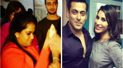 Birthday boy Salman Khan parties with sister Arpita, Sophie Choudry
