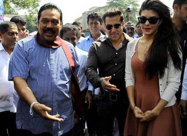Salman Khan, Jacqueline Fernandez campaign for Mahinda Rajapaksa ahead of Sri Lanka poll