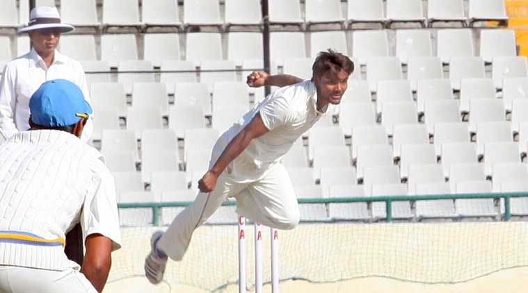 The 21-year-old Sharma (5/51) polished off the Vidarbha tail in a jiffy. (Express file)
