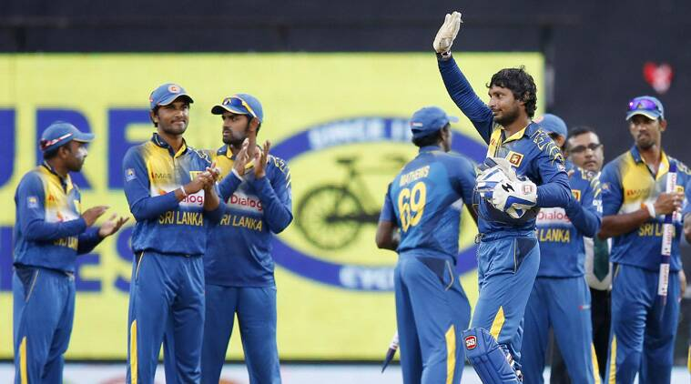 The evergreen Sangakkara blazed 112 off as many balls, highlighted by 12 fours and two sixes. (Source: AP)