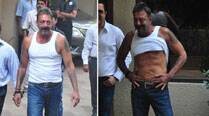 Sanjay Dutt returns home, says he's lost 18 kg