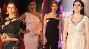 21st Screen Awards: Red carpet fashion report card