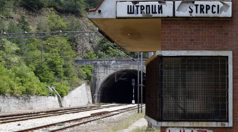 A railway station near the village of Strpci, eastern Bosnia. (Source: AP photo)