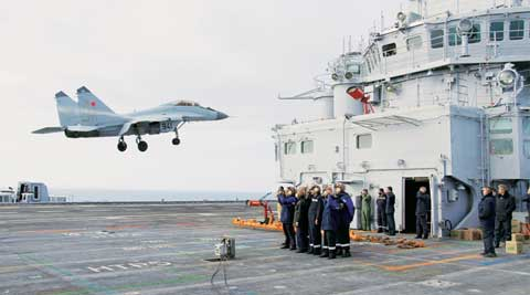 India needs to deepen its military security cooperation in the Indian Ocean with the US and France and initiate a maritime security dialogue with China.
