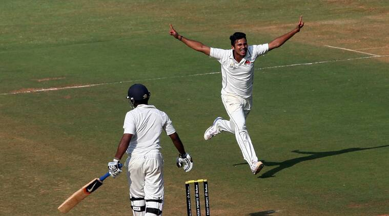 Shardul Thakur was the pick of the Mumbai bowlers. The seamer recorded figures of 6/59. (Source: Express File)