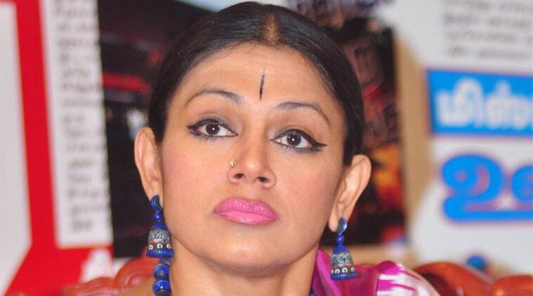 """Shobhana indicates her disapproval of the """"Kiss Of Love"""" campaign against moral policing."""