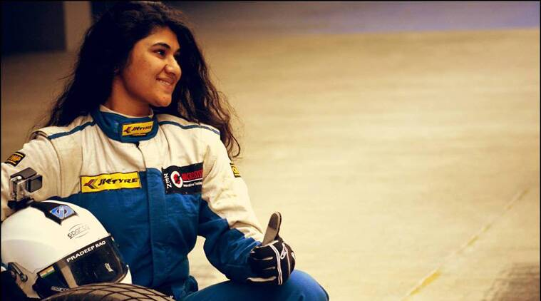 Sneha Sharma is a full-time pilot and racing is her passion.