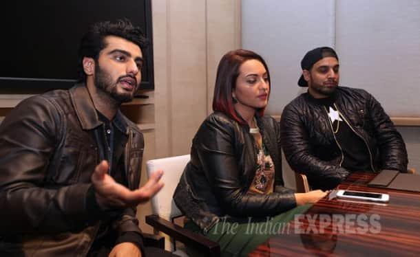 Arjun Kapoor, Sonakshi Sinha and their 'Tevar' in Chandigarh