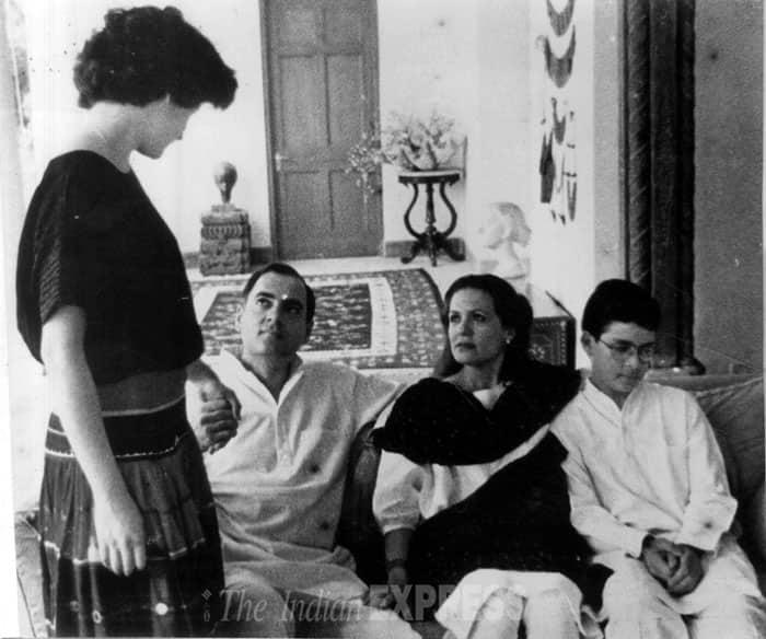 Sonia Gandhi Before Marriage Tattoo