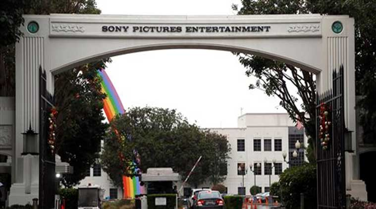 In this Dec. 2, 2014 file photo, cars enter Sony Pictures Entertainment headquarters in Culver City, Calif. (Source: AP)