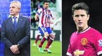 Ander Herrera, Gabi Fernandez and Javier Aguirre named as suspects in Spain's match-fixingprobe