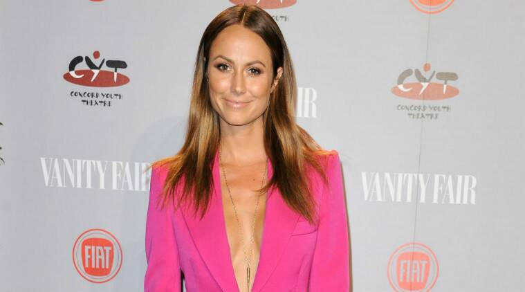 Stacy Keibler: I feel strong, flexible, and very high energy. (Source: AP)