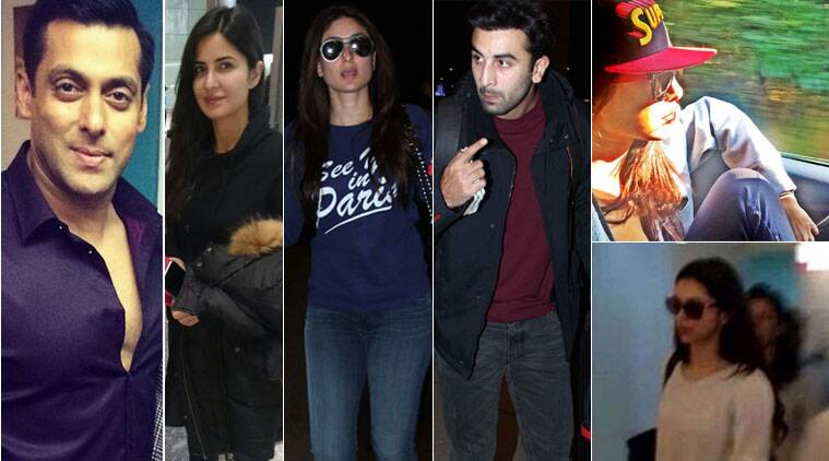 Stars like Salman Khan, Kareeena Kapoor, Priyanka Chopra, Ranbir Kapoor, Deepika Padukone among others have already come up with plans for the festive season and have already set off for the vacation.