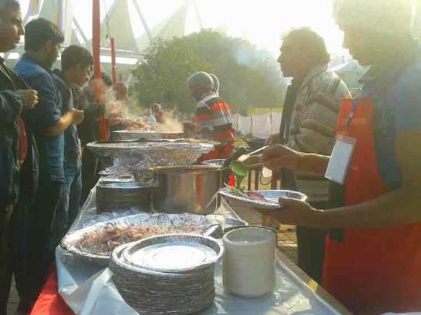 Street Food Festival being organised in New Delhi (Source: IANS)