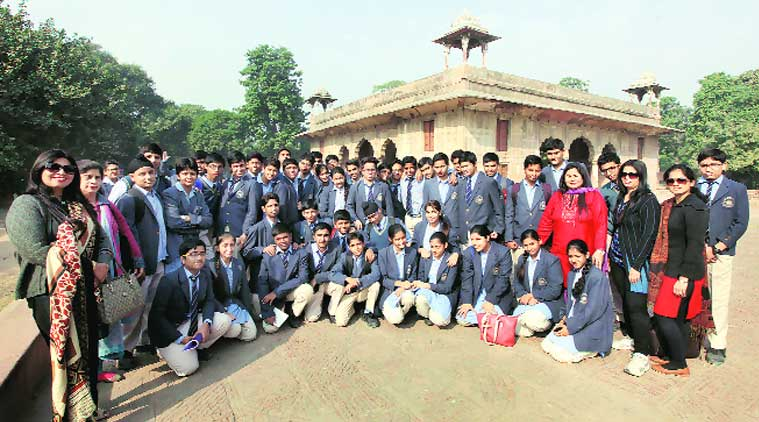 The students feel history is best researched and learned through experience. (Source: Express photo by Ravi Kanojia)