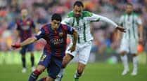 Luis Suarez opens La Liga account in Barcelona's 5-0 drubbing ofCordoba