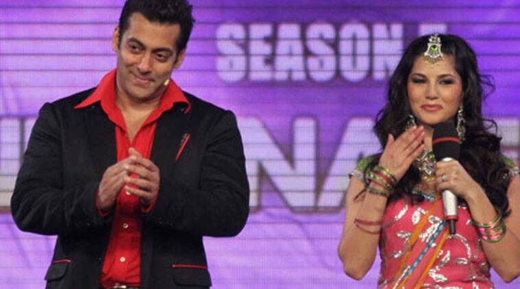 Sunny Leone: To the dashing Salman (Khan) you are one of the reasons I am here today.