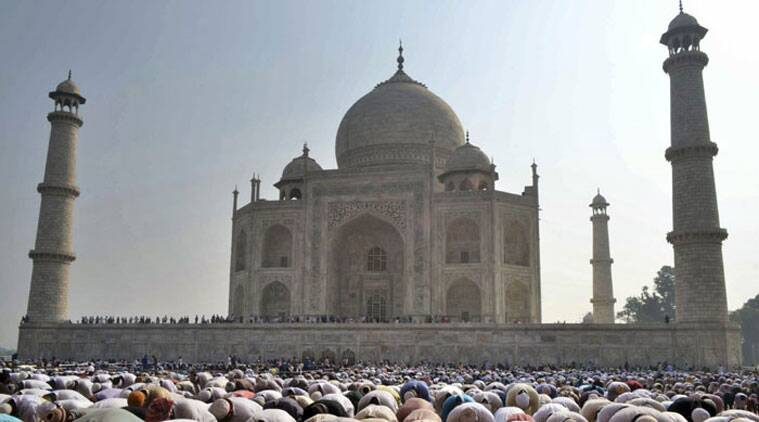 SP leader Azam Khan recently said that the Taj Mahal should be declared a property of the state's Waqf Board. (Source: AP photo)