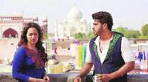 Sonakshi Sinha and Arjun Kapoor shoot a dramatic scene on a terrace in Tajgang