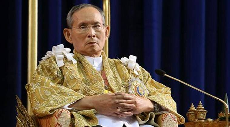 In this Dec. 5, 2013 file photo released by Thailand's Royal Household Bureau, Thailand's King Bhumibol Adulyadej attends a ceremony in celebration of his 86th birthday at Klai Kangwon Palace in Prachuap Khiri Khan province, Thailand. (Source:AP)