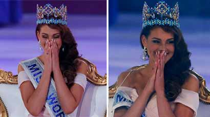 Crowning glory: Miss South Africa's winning moment as Miss World 2014