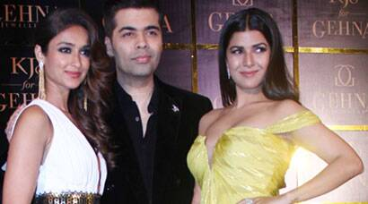 Ileana, Nimrat cheer for Karan Johar the jewellery designer