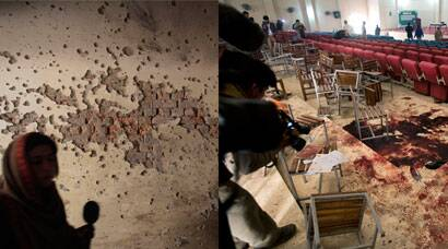 Inside pictures of Peshawar school attack: Blood on floor, bullet marks on walls
