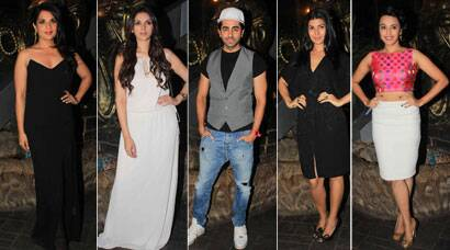 Photos: Richa Chadda's birthday: Aditi Rao, Ayushmann, Nimrat Kaur are celebrity guests
