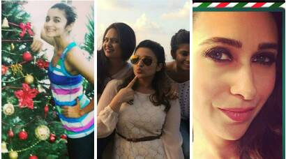 "PHOTOS"" Holiday Season: Alia, Parineeti, Karisma on Christmas vacation"