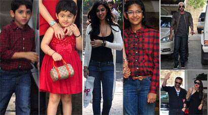 Ranbir, Kareena, Saif, Karisma's children Samiera, Kiaan at Kapoor's Christmas lunch