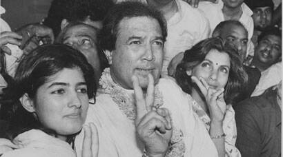 Happy Birthday Rajesh Khanna, Twinkle: Rare photos of the 'original superstar with daughter