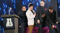 A viewer's account of what happened when Aamir, Salman, Shah Rukh Khan danced together