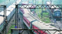 Window of Shatabdi damaged in stone-pelting