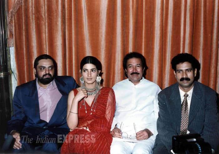 Rajesh Khanna, Twinkle Khanna