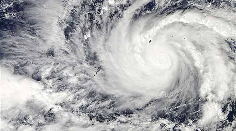 This image captured by NASA's Aqua satellite shows Typhoon Hagupit on Wednesday, Dec. 3, 2014 at 04:30 UTC in the western Pacific Ocean.(Source: AP)