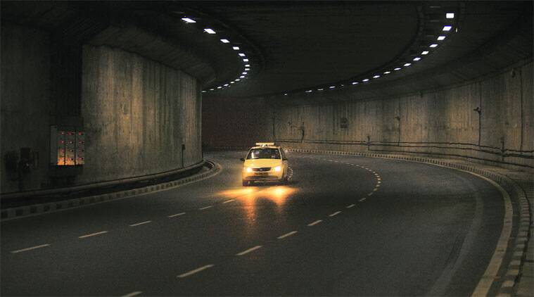 Tunnel near Aerocity 1.30 am